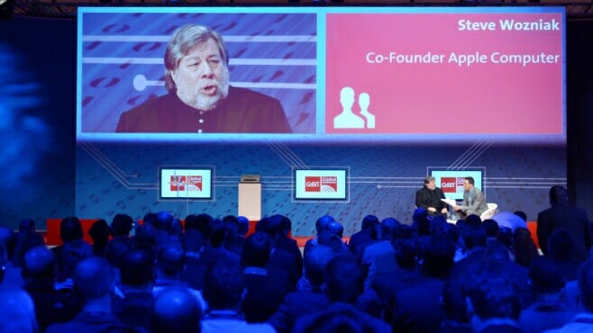 Steve Wozniak @ Cebit