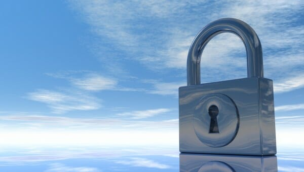 Cloud-Security-Lock