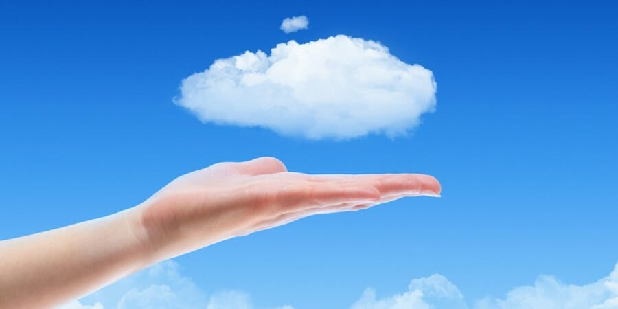 Cloud on a plate