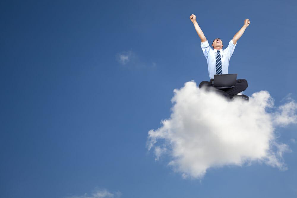 De beste wensen vanuit de Cloud