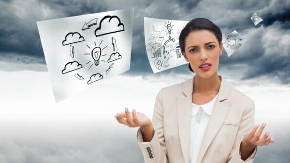 Zoek de verschillen, Managed Hosting of Cloud computing?