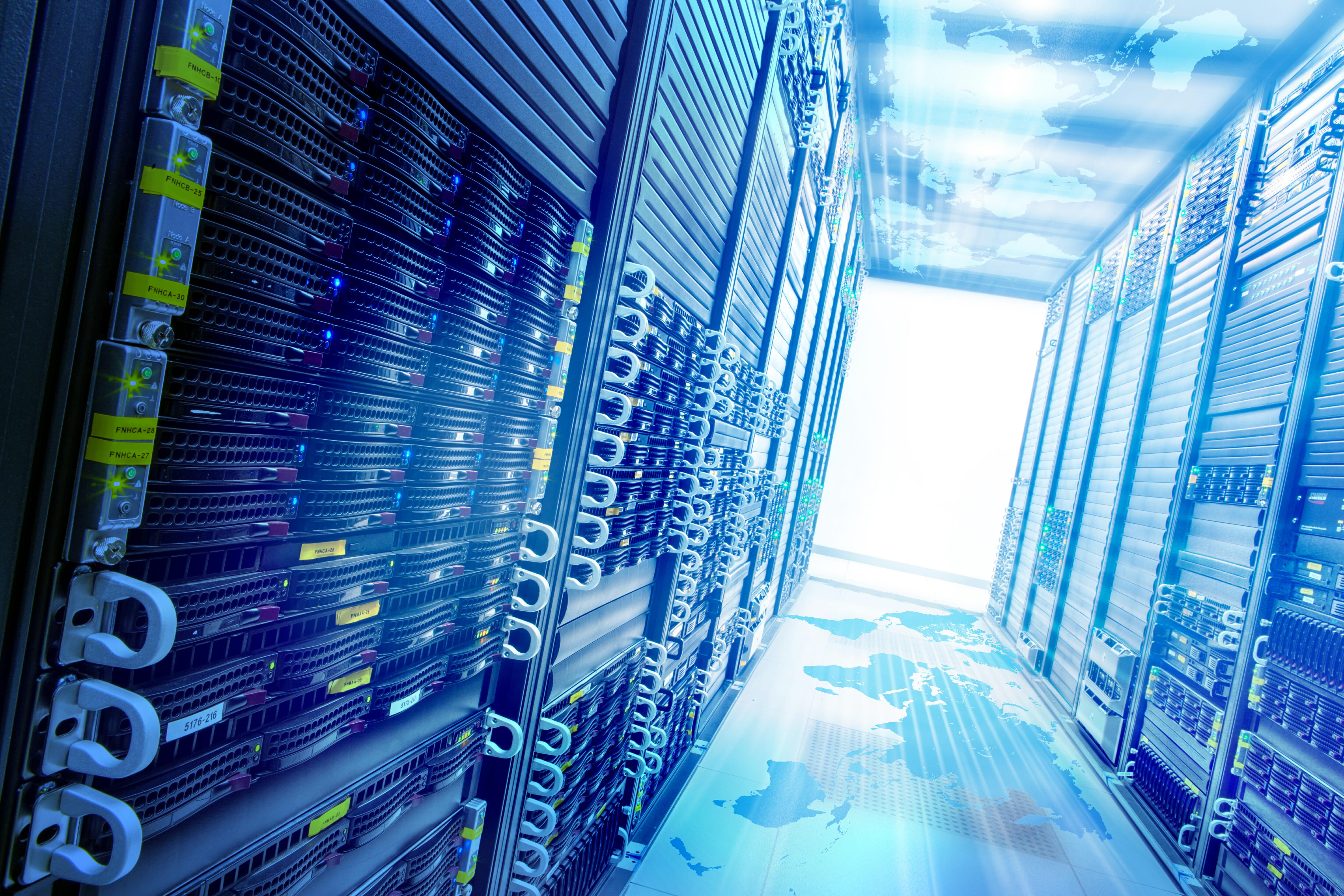 Belgische datacenters in de minderheid